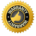 Warranty badge for Utah foundation repair service